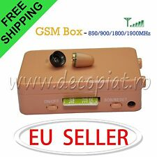Micro Spy Earpiece Small Invisible Wireless with GSM Box Bluetooth Transmitter