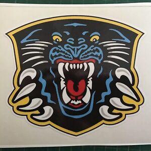 Nottingham Panthers Printed Vinyl Sticker