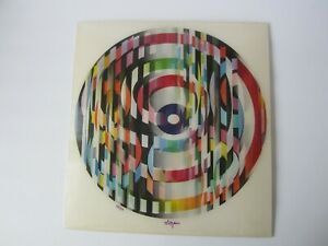 Yaacov Agam World of Color 1981 Agamograph Motion 3-D Lenticular Signed #73 / 99