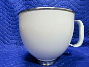 KitchenAid KSM150 - 5 Quart White Stainless Steel Mixing Bowl Never Used! KSM150