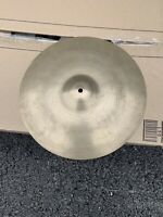 """Free P&P. Vintage 14"""" Super Zyn Cymbal. 900g."""