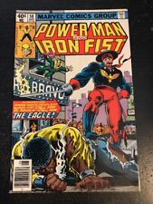 Power Man And Iron Fist#58 Awesome Condition 8.0(1979) 1st The Eagle App!!