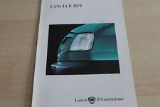123443) Lancia Delta HPE Prospekt 04/1995