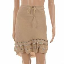 Viscose Party Patternless Short/Mini Skirts for Women