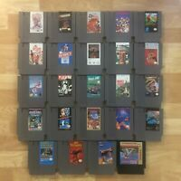 Lot of 24 Nintendo Entertainment System NES Games | Great Condition | Used | C10