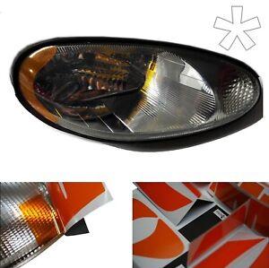 US - Design - Folie für Scheinwerfer Mazda MX5 NB 01/98 - 12/00