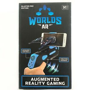 Worlds AR Augmented Reality Bluetooth Gaming Blaster Pro Edition NEW Free Ship