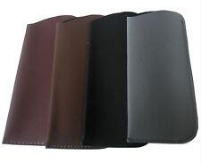 2 X Slip in Glasses Slim Case Pouch Soft Spectacle Sleeves - RNR 2 Black