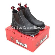 NEW Australian Aussie Redback USBOK Dealer Style Safety Boots All Sizes 03 To 13