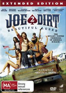 JOE DIRT 2: BEAUTIFUL LOSER (EXTENDED EDITION) (2015) [NEW DVD]