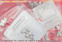 NEW SEALED ORIGINAL OMEGA LINKS + PINS+TUBE--SEAMASTER,SPEEDMASTER,MORE