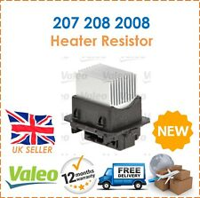 For Peugeot 2008 + 207 + 208 Valeo Heater Resistor, Actuator, Air Conditioning