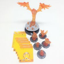 Heroclix AvX: Avengers vs X-Men set Phoenix Force + 5 Fragment w/cards! COMPLETE
