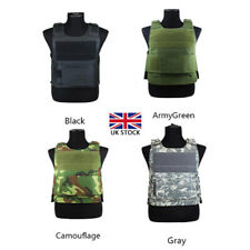 More details for hunting military tactical vest protecting body armour defence security guard uk