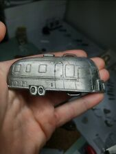 1983 Vintage C.A.T. pewter AIRSTREAM Belt Buckle Trailer RV