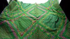 "New listing 2 +Yds. 42"" Wide Green Hankercheif Design Cotton Fabric"