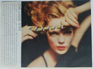1959 vintage Lindy star ring and diamond bracelet vintage jewelry redhead ad