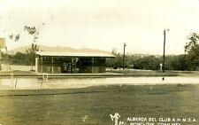 Monclova, Mexico The Alberca Del Club A.H.M.S.A. RPPC