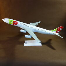 1/100 TAP Portugal Airlines Airbus 340-300 Airplane Travel Agents Display Model