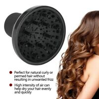 Hairdressing Blower Styling Salon Hair Curly Hair Dryer Diffuser Cover Black