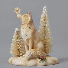 Foundations by Karen Hahn - Mini Winter Vignette Fox  - Enesco 4053527