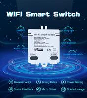 eWelink WIFI Smart Switch Wireless RC 100-250V WiFi Home Modified Switch Access~