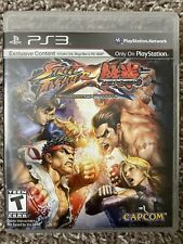 Street Fighter X Tekken (Playstation 3) PS3 Complete With Manual Great Disc