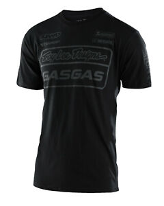2021 TROY LEE DESIGNS TLD TEAM GAS GAS TEE T SHIRT BLACK NEW MENS MX TOP CASUAL