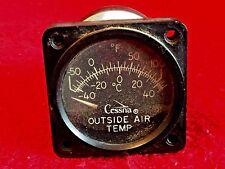 "CESSNA 2 1/4"" OUTSIDE AIR TEMPERATURE INDICATOR GARWIN P/N 22-295-01"