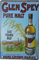Whiskey Pin Badge. Vintage GLEN MORAY Highland Scotch Whisky