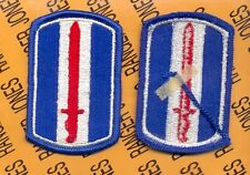 US Army 193rd Infantry Brigade dress uniform shoulder patch m/e