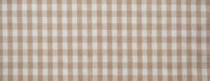 Upholstery Fabric - Check Small Mocha (16m)