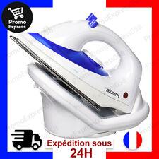 Fer à Repasser sans Fil 1800 W, 0.11 liters Blanc/Bleu Sans Fil Recharge 110ml