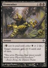 1 x Dismember - rare - Neuf Phyrexia / Commandant - MTG - NM - magic the