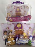 Disney Princess Little Kingdom Rapunzel's Royal Wedding Dolls Set  Carrying Case
