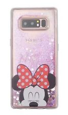 NEW Samsung Galaxy S8 Minnie Mouse Pink Glitter Hard Phone Case/Cover