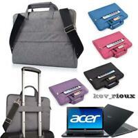 """Sleeve Case Shoulder Handle Bag For Acer 11"""" to 15"""" Chromebook Laptop Notebook"""