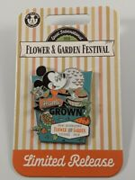 Disney 2020 Flower And Garden Home Grown Mickey Limited Release Pin