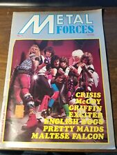 Metal Forces Magazine Issue 11 UK Exciter, English Dogs, Crisis