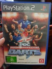 PDC World Championship Darts (no booklet) PLAYSTATION 2 PS2 -   FREE POST *