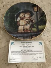 Stormy Weather Hummel Little Companions Danbury Mint Collector With Cert #L530