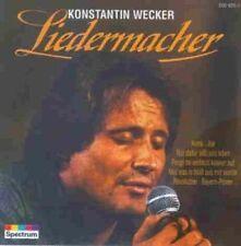 Konstantin Wecker Liederbuch Edition (14 tracks, 1981-86, Spectrum) [CD]