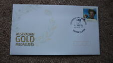 2004 AUSTRALIAN ATHENS OLYMPIC GOLD MEDAL FDC, ADELAIDE, RYAN BAYLEY CYCLING 1