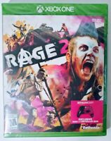 Rage 2 Xbox One Video Game With Exclusive Controller Skin Bethesda New Sealed