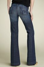 ANTHROPOLOGIE Citizens of Humanity Faye Wide Full Leg Denim Jeans NwT 24 00