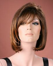 Ladies Medium Wig Full Fashion Wig Blonde Black Brown Wig Forever Young Wigs