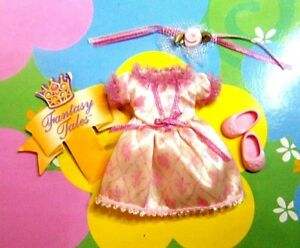 Kelly Chelsea Doll Clothes *VHTF Mauve/Pink Fantasy Tales Dress & Shoes*