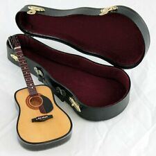 3 inch String Guitar with Pick Guard Instrument Miniature Replica FREE SHIPPING