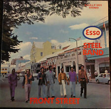 ESSO STEEL BAND -FRONT STREET-SIGNED BY ENTIRE BAND- UNKNOWN RELEASE-RARE