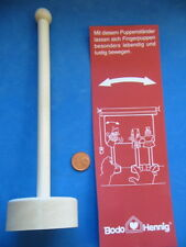Nr.1045 Bodo Hennig Fingerpuppenständer - Puppenstuben Kaufladen Puppenhaus